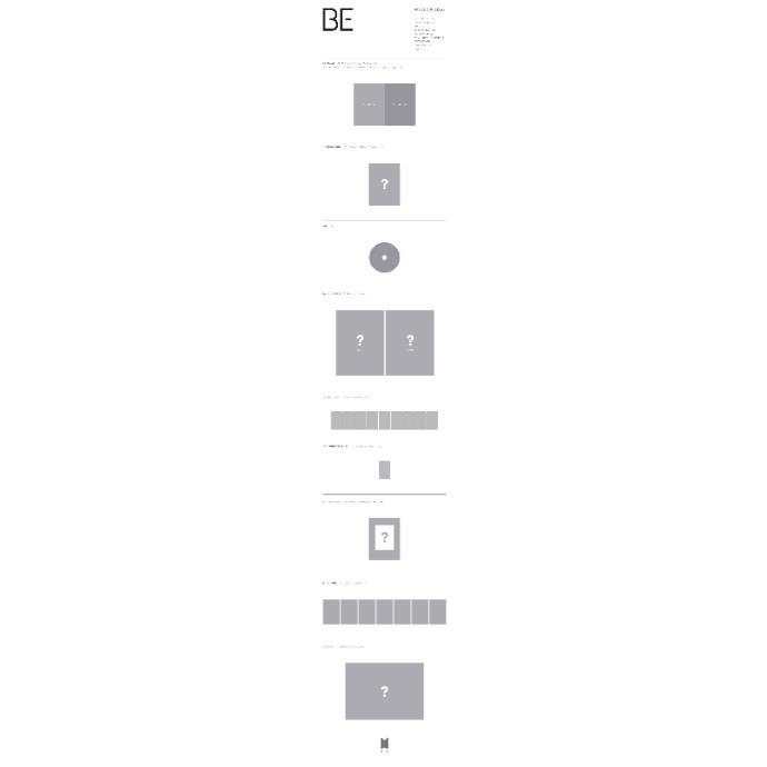 BTS 韓国ニューアルバム『BE (Deluxe Edition)』、11月下旬発売!