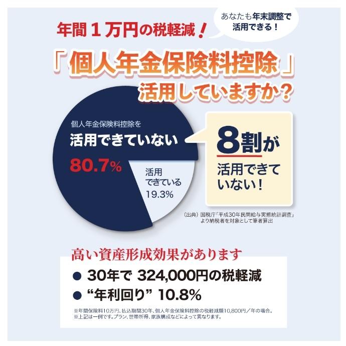 個人年金保険で節税しながら資産形成