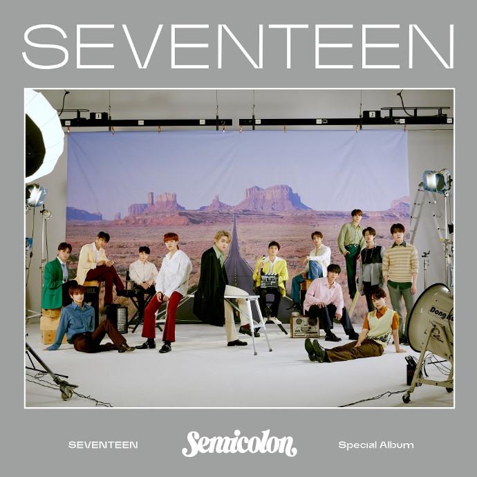 SEVENTEEN Special Album '; [Semicolon]' 発売中!!