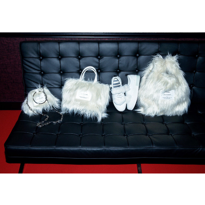 FUZZY FAUX FUR ITEMS FOR WINTER
