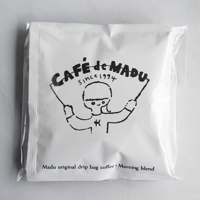 おすすめ♪ マディオリジナルドリップバックコーヒー モーニングブレンド10g×2個
