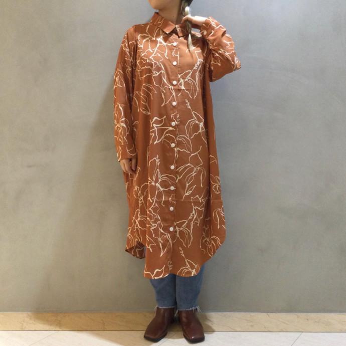 コンテンポラリーシャツドレス