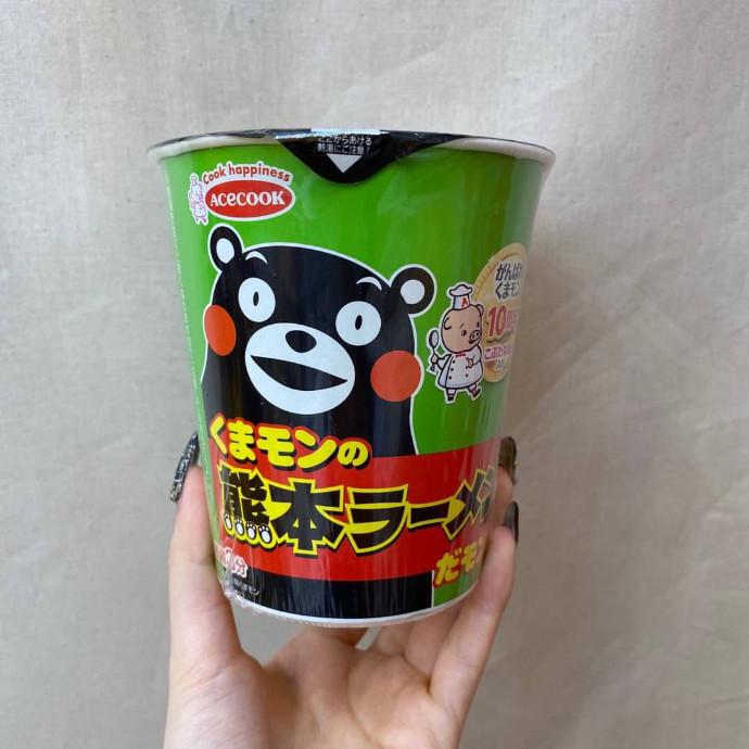 くまモンの熊本ラーメンだモン!
