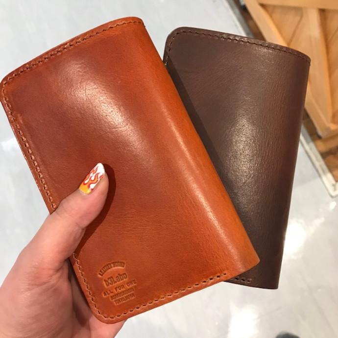 【ダグラス 2つ折り財布】藤沢のレザーショップ