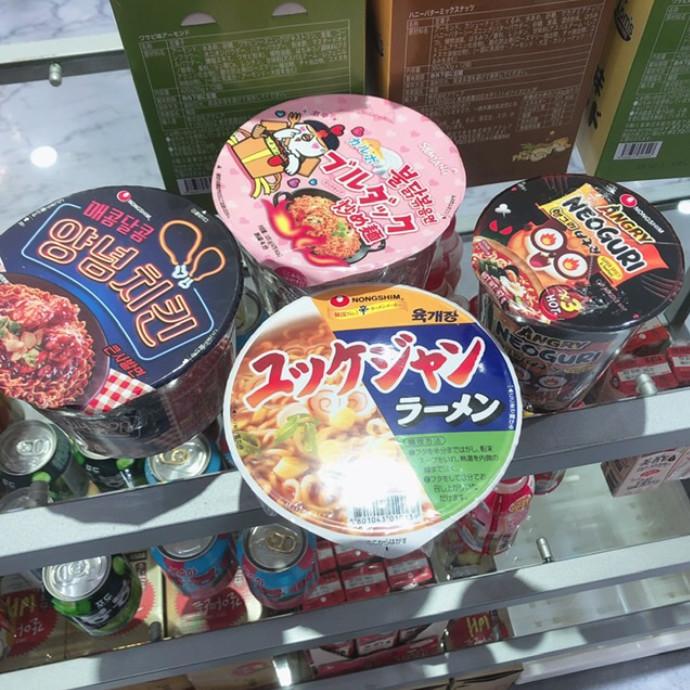 韓国カップ麺入荷しました!
