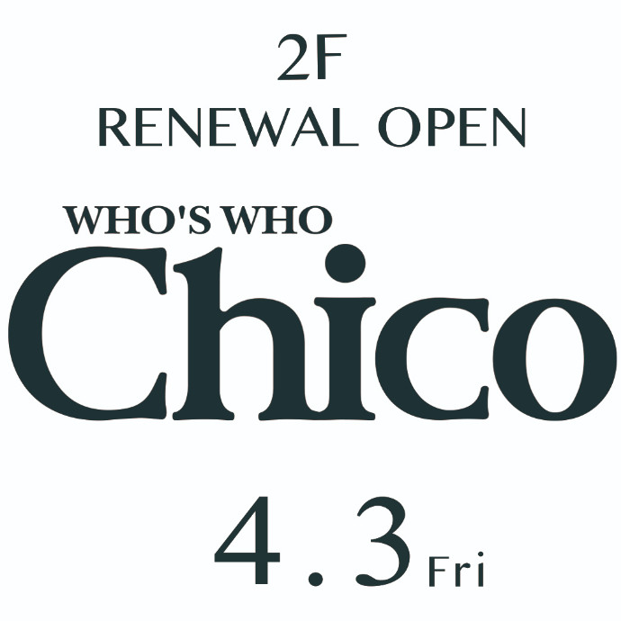 who's who Chico(フーズフーチコ)