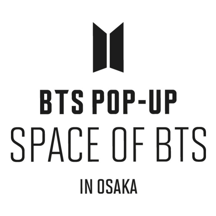 BTS POP-UP : SPACE OF BTS IN OSAKA*12月7日(月)~3月7日(日)期間限定SHOP