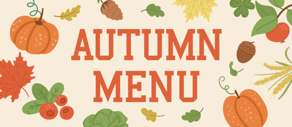 AUTUMN MENU