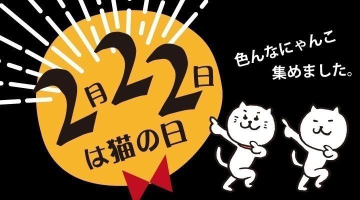 猫の日(2/22)特集