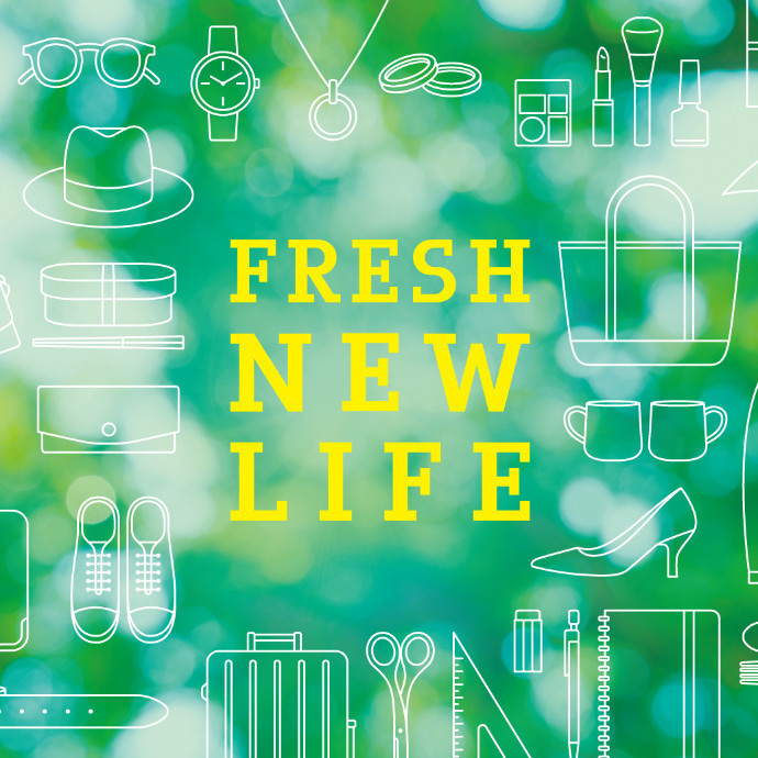 🍀FRESH NEW LIFE(春の新作)🍀