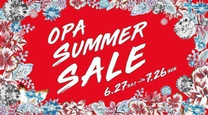OPA SUMMER SALE