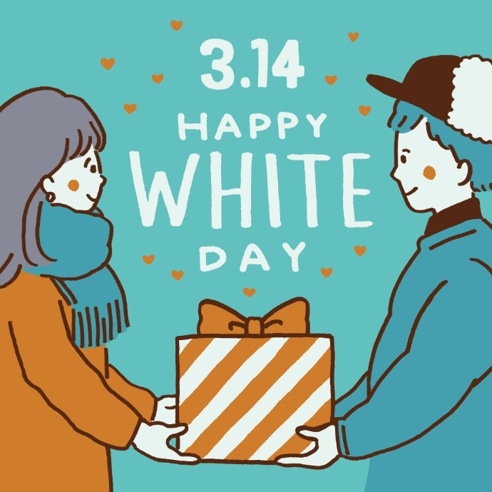 HAPPY WHITE DAY