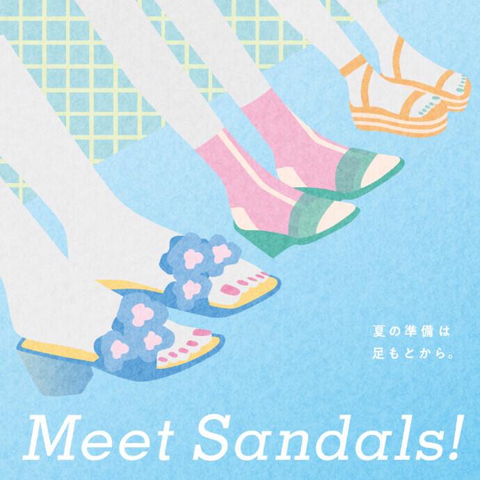 Meet sandals !