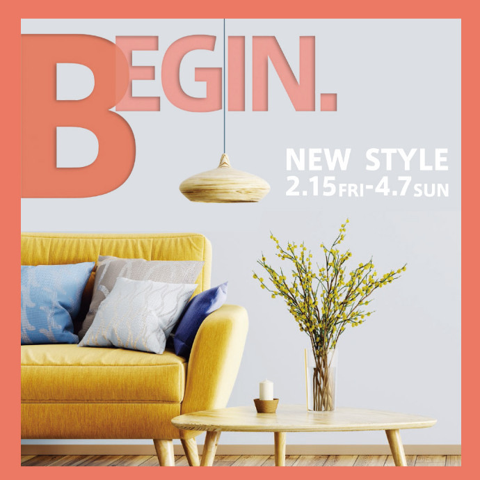 BEGIN. NEW STYLE